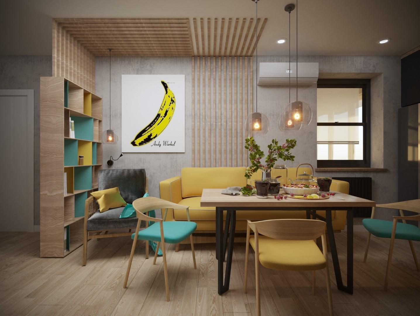 проект по дизайну интерьеру от ХАТА Дизайн
